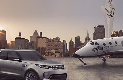 Land Rover: Kooperation mit Virgin Galactic