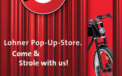 Tradition und Pop-Up-Store