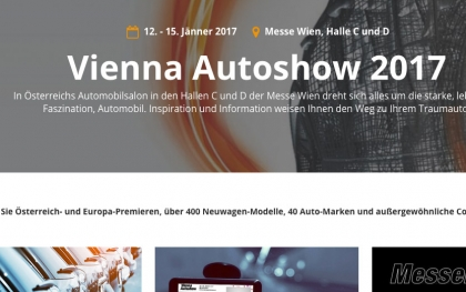 Relaunch der Messe-Homepage