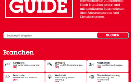 Der aktuelle automotive GUIDE ist da